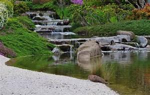 Gartenteich Mit Wasserfall : gartenteich mit bachlauf so legen sie ihn an ~ A.2002-acura-tl-radio.info Haus und Dekorationen