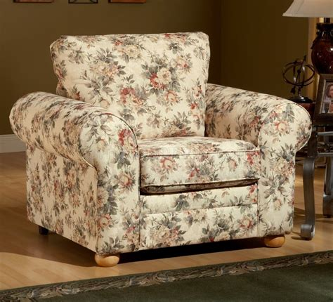 floral pattern fabric traditional sofa loveseat set