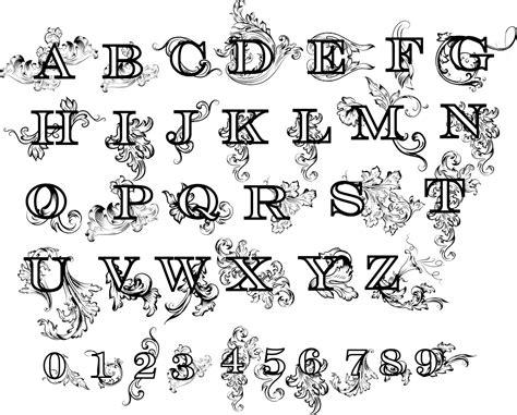 flower floral alphabet letters design dwg file   axisco