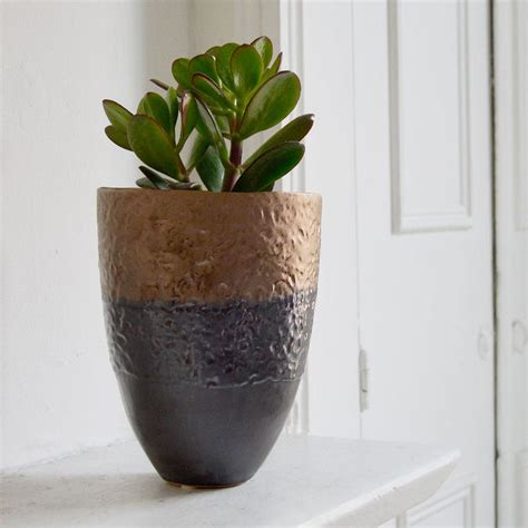 Plant Pots by Buy Petrol Bronze Small Plant Pot The Worm That Turned