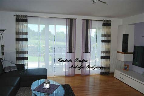 http wohninspirationen ideen fuers schlafzimmer lila schiebevorhang f 252 rs wohnzimmer mit grauen