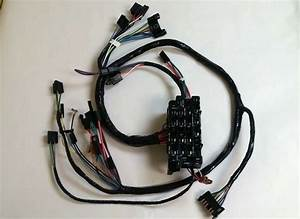 1967 1968 Chevy Pick Up Truck Under Dash Wiring Harness With Warning Lights