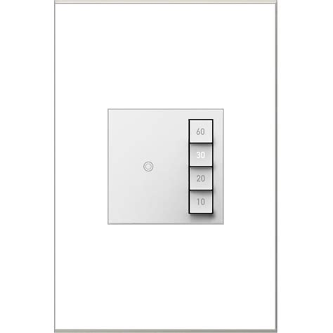 light switch timer lowes shop legrand 15 amp adorne sensaswitch white 3 way timer