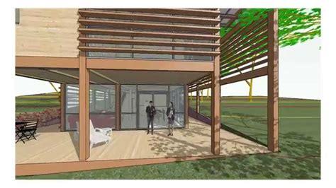 visite virtuelle maison contemporaine en bois b 10190