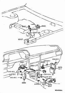 1998 Toyota Camry Sensor  Oil Temperature  Sensor  Water Temperature  Sensor  Water