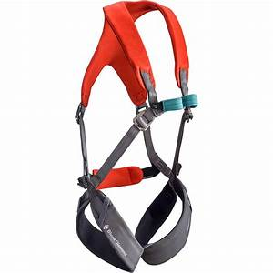 Climbing Harness Size Chart Black Diamond Momentum Full Body Harness Kids