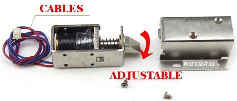 Actuator Electric Door Lock Solenoid Lock Cabinet Lock