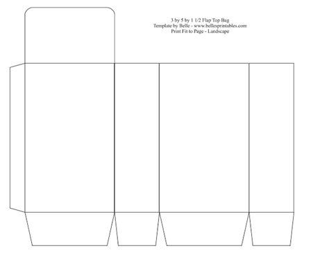 paperbag template bag tools images bag template sles