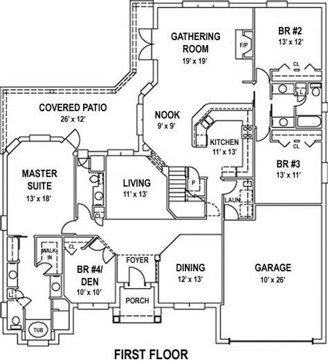 open house floor plans large open floor plan house plan alp 099d