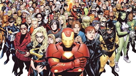 the marvel marvel universe heyuguys