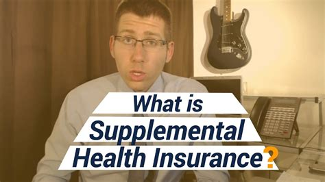 Primary insurance coverage is what is first used when a medical service is being rendered. What is Supplemental Health Insurance? - YouTube