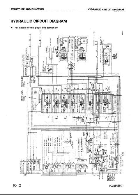 komatsu hydraulic excavator pc228us 2 pc228uslc 1 2
