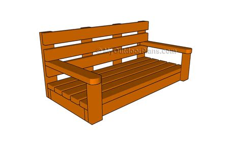 how to build a porch swing free porch swing plans myoutdoorplans free woodworking