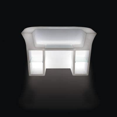 bureau lumineux bureau lumineux my desk l 180 cm blanc slide
