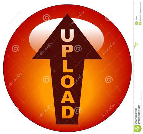 upload icon  button royalty  stock image image