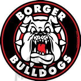 borger bulldogsjpg custom car magnet logo magnet