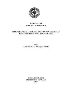 Implementasi Hak-hak Ekonomi, Sosial dan Budaya
