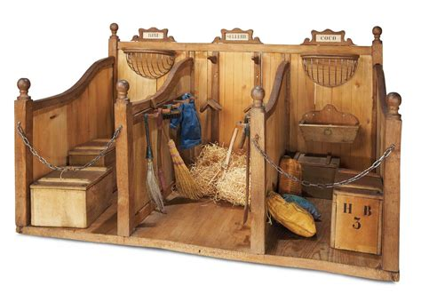 collectible buildings jj 23 24 the legendary spielzeug museum of davos 311 wonderful wooden stable for