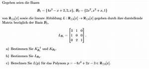 Eigenwert Matrix Berechnen : bestimmen von k 1 koordinatenvektor und lb2 ~ Themetempest.com Abrechnung