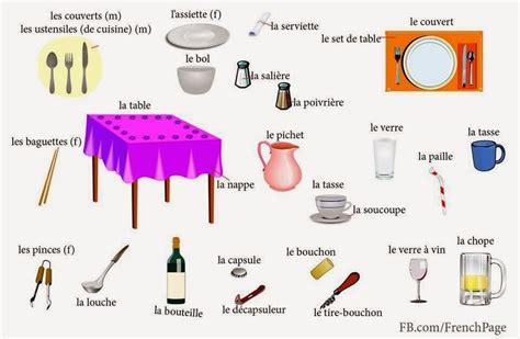 lexique ustensiles de cuisine le de la classe de françoise la cuisine et les