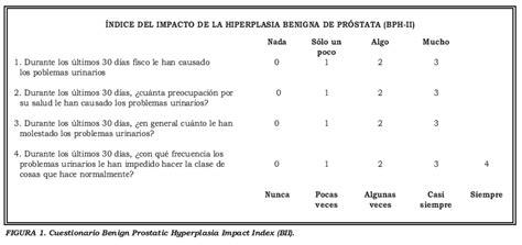 respuestas tipo likert validaci 243 n de la versi 243 n espa 241 ola cuestionario benign