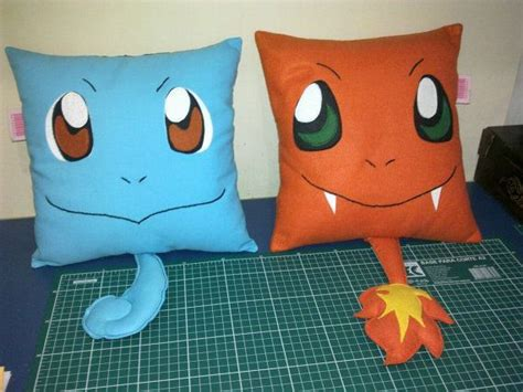 handmade pokemon charmander  squirtle set party favor