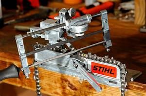 Stihl Fg2 Bench Mount Filing Guide