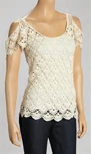 Crochet Lace Tops for Women
