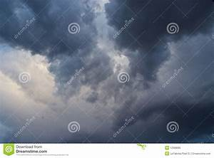 Black Clouds Royalty Free Stock Photo