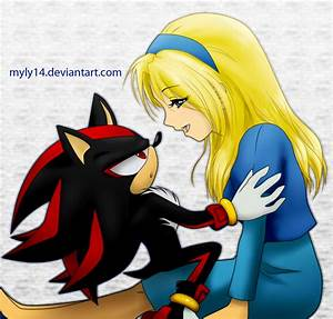 Shadow and Maria by Myly14 on DeviantArt