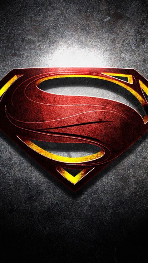 supermann handy logo kostenlos hintergrundbild auf dein handy