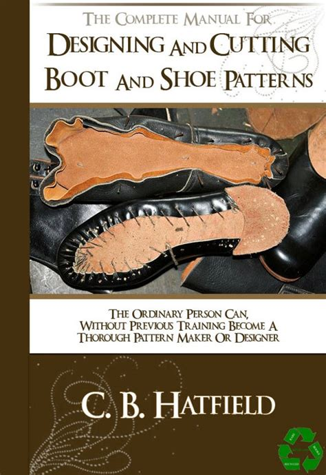 designing  cutting boot  shoe patterns  pages