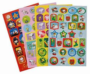 Peanuts Seasons and Holidays Sticker Book Eureka School