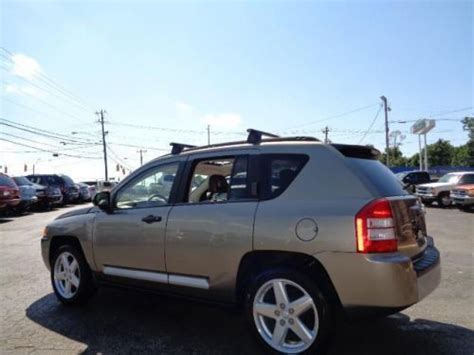 tan jeep compass find used 2008 jeep compass limited in 5010 w market st