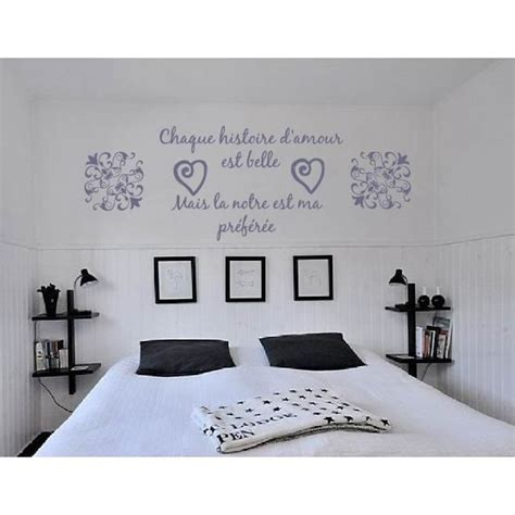 stickers phrase chambre adulte sticker mural citation amour romantique achat vente