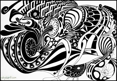 Abstract Black And White Animal Drawings by Black And White Abstract Drawings 8 Background