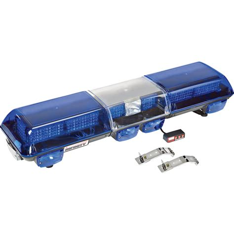 blue led light bar wolo infinity 3 48in 3 led light bar blue lens