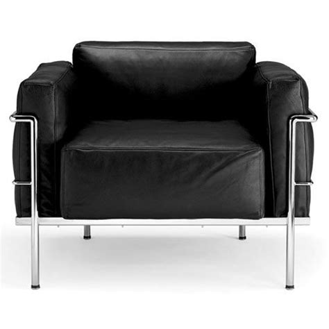 grand confort soft armchair design le corbusier