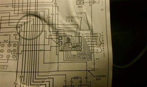 wiring   honeywell thermostat doityourselfcom