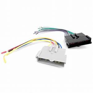 Mustang Radio Install Wiring Harness  87-00