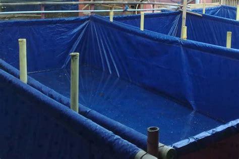 Jual Kolam Terpal Mojokerto harga terpal kolam ukuran 3x4 jual terpal kolam lele 3 x