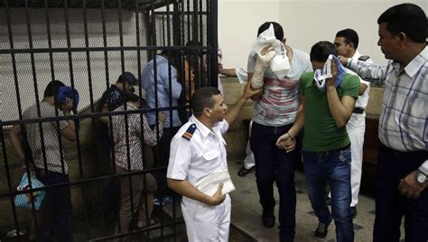 Egypt Arrests 25 Men In Gay Bathhouse Raid The Times Of