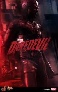 hot toys announces marvels daredevil figure  comic