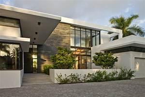 maison contemporaine de standing situee en floride With les entrees des maisons