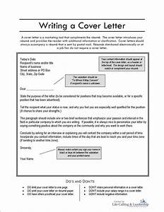 Cover Letter Writing Proposal Writting Format