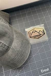 Camping Hat With The Cricut Easypress Mini