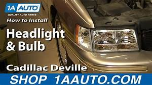 How To Replace Headlight And Bulb 97