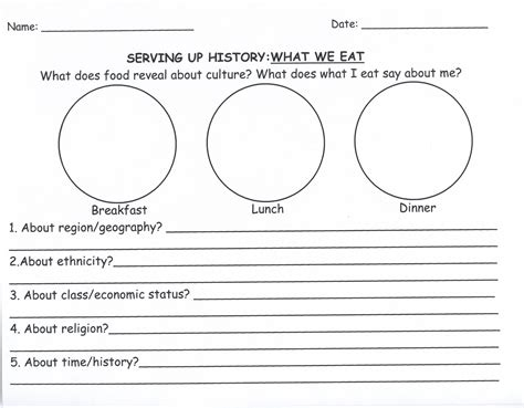 history worksheets for kindergarten view resume