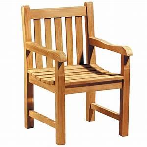 Coussin De Fauteuil De Jardin : fauteuil de jardin en teck massif avec coussin ~ Teatrodelosmanantiales.com Idées de Décoration