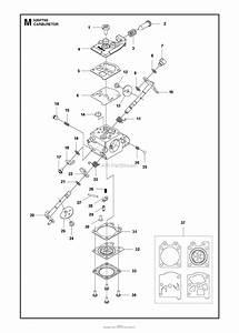 Husqvarna 525 Pt5s Parts Diagram For Carburetor